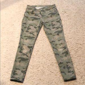 Old Navy The Rockstar Skinny Stretch Camo Jeans